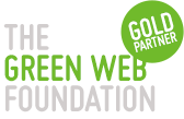 The Green Web Certified Gold Partner